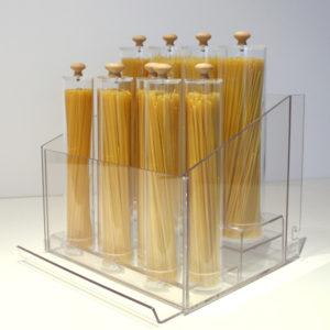 Comptoir 13L avec spaghettis