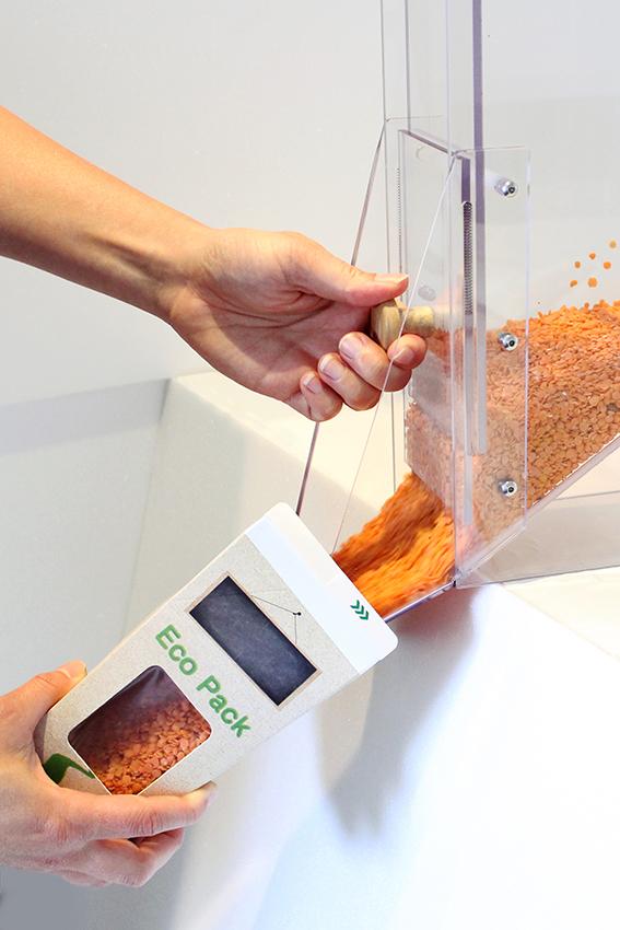fillapack emballage ecologique boite carton réutilisable vrac