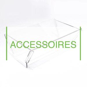accessoires présentation entonnoir à silo vrac commerce esthétique