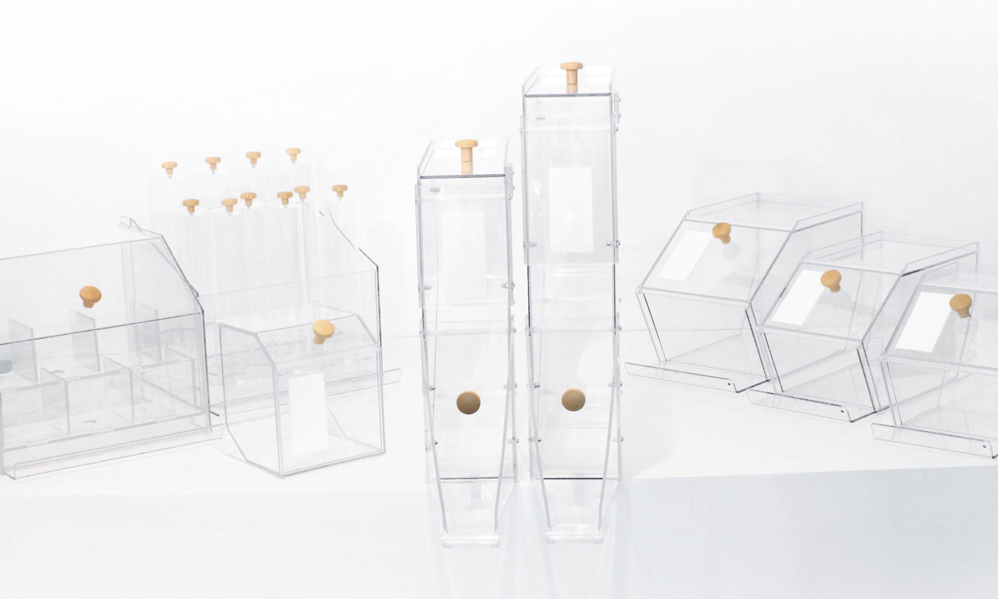gamme bacs silo applyvrac esthétique design produits aliment bio écologique commerce