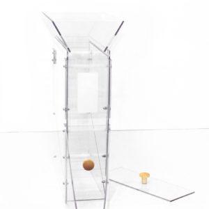 silo à gravité entonnoir pour remplir facilement