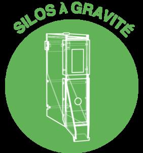 silo à gravité vrac fabriqué en france