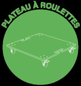vignette plateau roulettes bac 30L