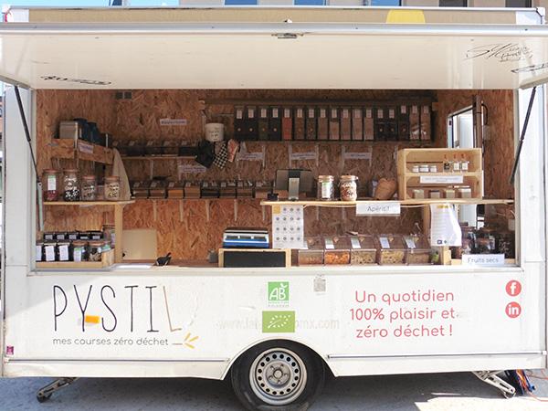 Épicerie ambulante Pystil - Monts du Lyonnais (69)